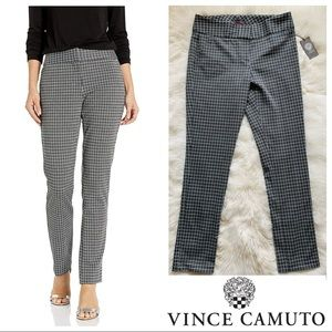 New! VINCE CAMUTO Houndstooth Plaid Dress Pants